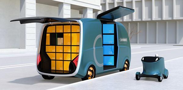 self-driving autonomous trucks
